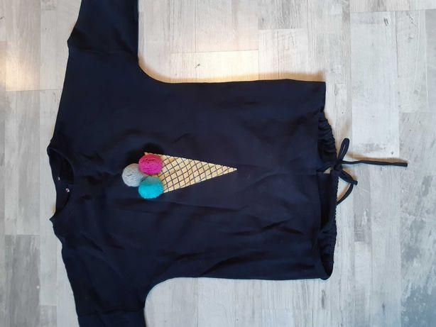 Bluza czarna 158