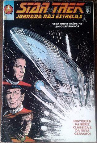 BD Star Trek Jornada das Estrelas. Vol 1 e 3 . Envio Ctt