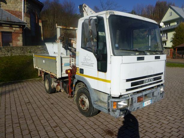 Samochód ciezarowy IVECO Eurocargo 100E15 z HDS Żuraw