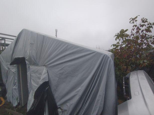 Namiot magazynowy handlowy konstrukcja 6x8 do złożenia rurki
