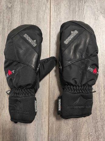 Женские зимние лижные варежки перчатки SnowLife Оригинал. Размер Л