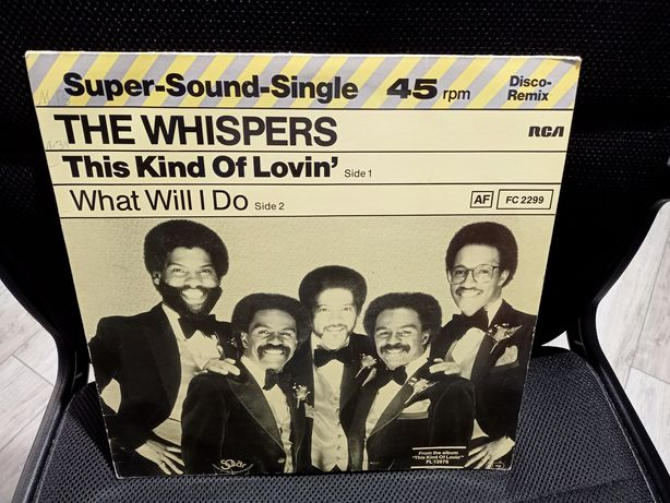The Whispers ‎– This Kind Of Lovin' / What will I do - Winyl Vinyl 12""