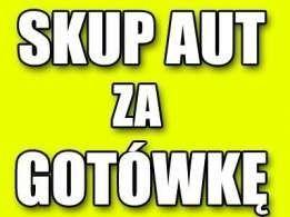 SKUP AUT pojazdów samochodów najlepsze ceny  GOTÓWKA