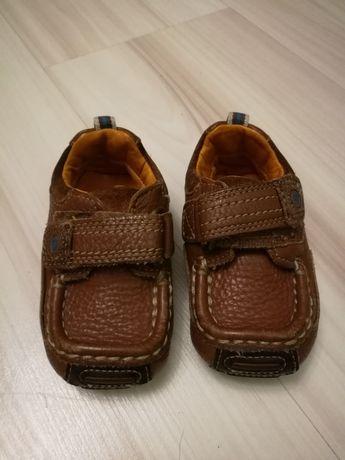 Skórzane buciki butki buty niechodki mokasyny mokasynki