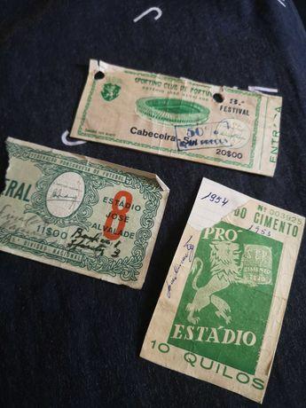 Bilhetes SPORTING(vintage)