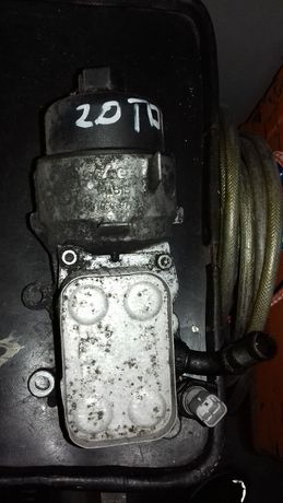 Chłodniczka oleju, podstawa filtra 2.0tdci ford s-max, galaxy, mondeo