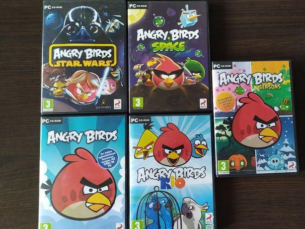 Gry na PC Angry Birds 5szt.