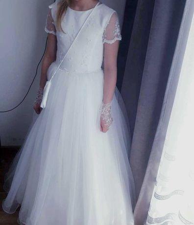 Suknia komunijna z salonu sukien ślubnych karina piekna i  efektowna