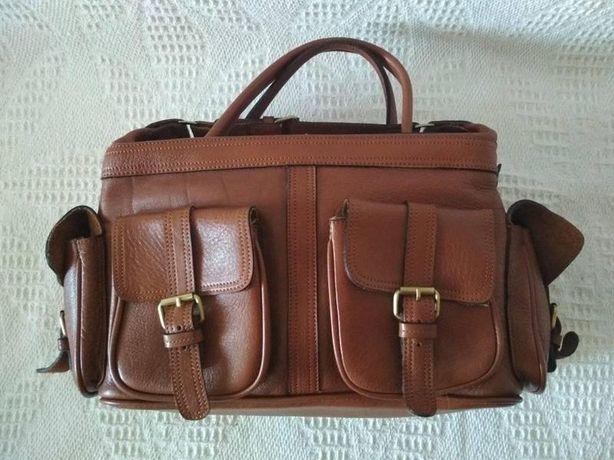 Сумка шкіряна mul berry оригінал большая сумка с короткими ручками mul