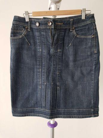 Spódnica jeansowa z dżinsu