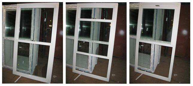 Вертикально-сдвижные окна из металлопластика .