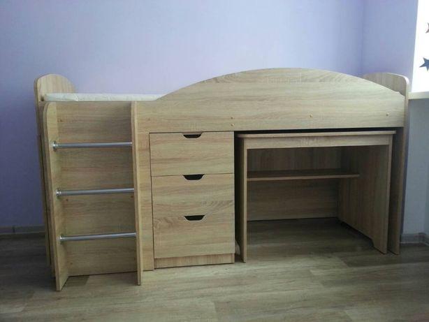 Детская Кровать Универсал – 4 в 1 (Кровать + Стол + Шкаф + Тумба)!