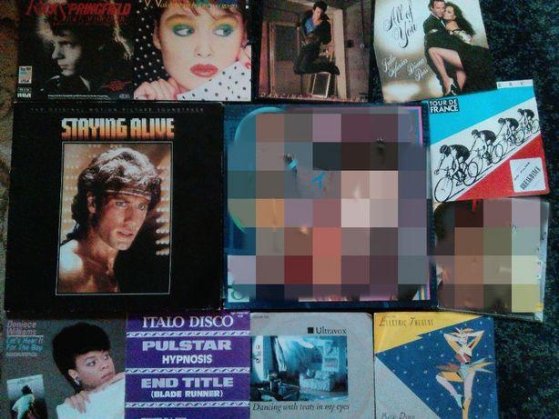 Discos Vinil Staying Alive, Culture, Wham, Julio Iglesias, etc
