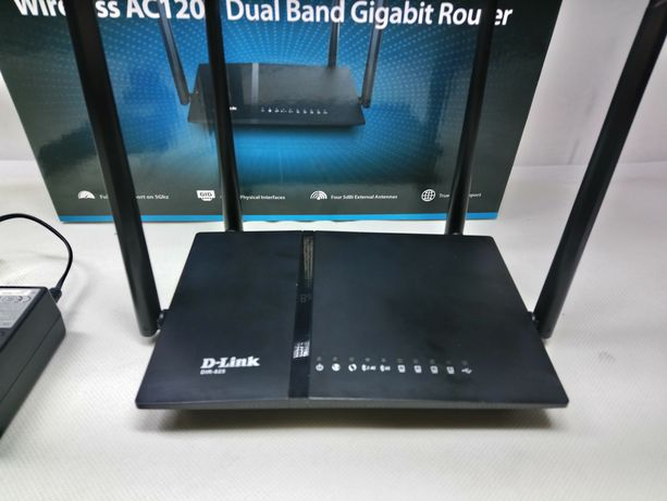 D-Link AC1200 DIR-825 Mocny Gigabitowy Router lombard krosno