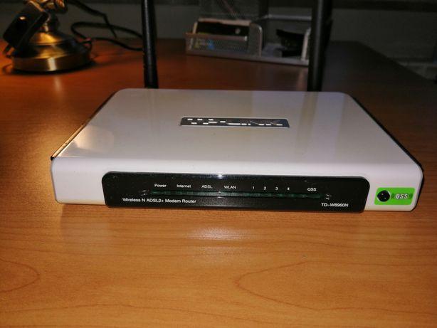 Router TP-LINK Td-w8960n ADSL 2+ z modemem