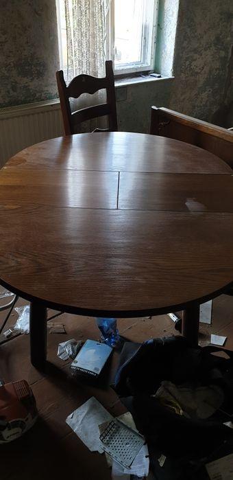 stół i 4 krzesła Dzierżoniów - image 1