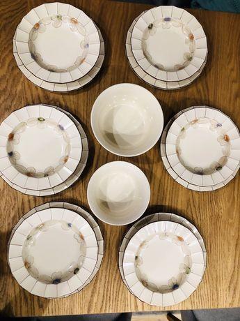 Serwis obiadowy na 6 osob Schramberg Handbemalt Titisee recznie malowa