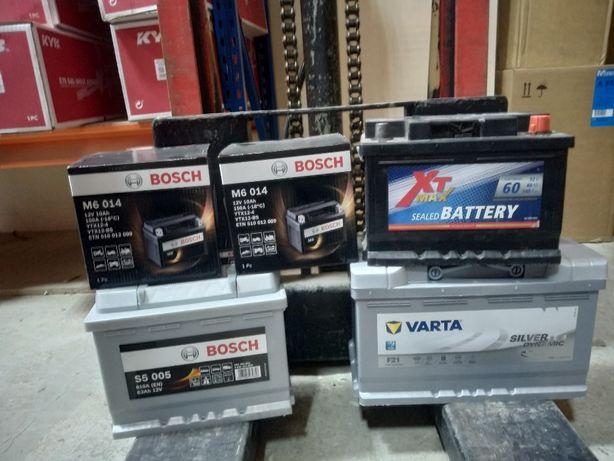 Аккумулятор АКБ ,Bosch ,Varta ,TAB. Авто и мото акб, новые на гарантии