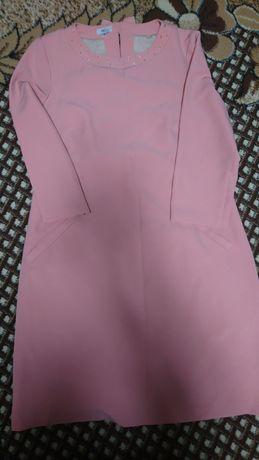 Плаття пудра,50 розміру