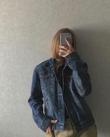 Женская джинсовка синяя Cher