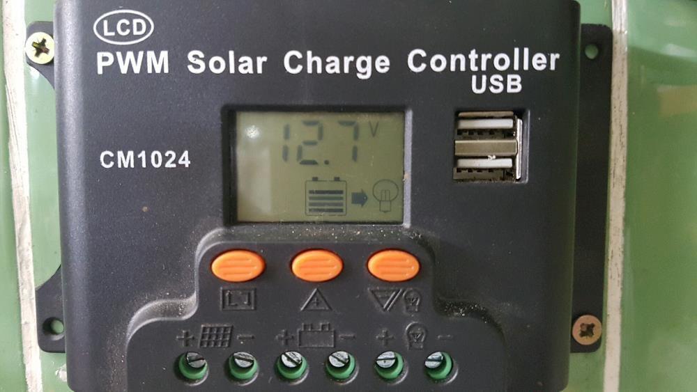Controlador solar 10--30 amperes novos garantia 3 anos Fernão Ferro - imagem 1