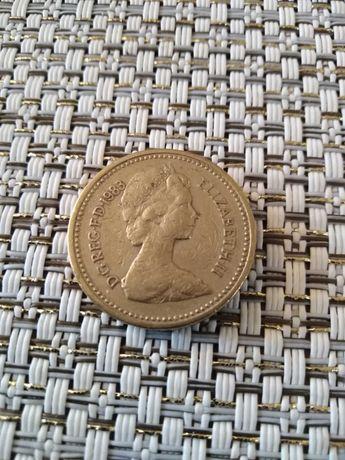 Sprzedam monetę ONE POUND rok 1983