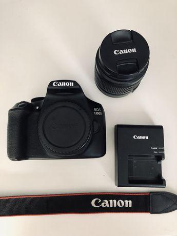 Lustrzanka Canon 1300d + obiektyw 18-55mm