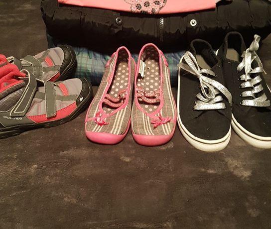 Buty do domu 3 szkoły dla dziewczynki roz 32 33 kapcie Befado