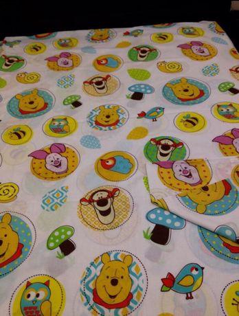 Детский комплект постельного белья Винни Пух