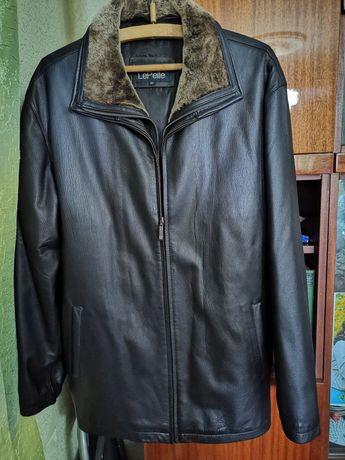 Кожаная куртка. Новая