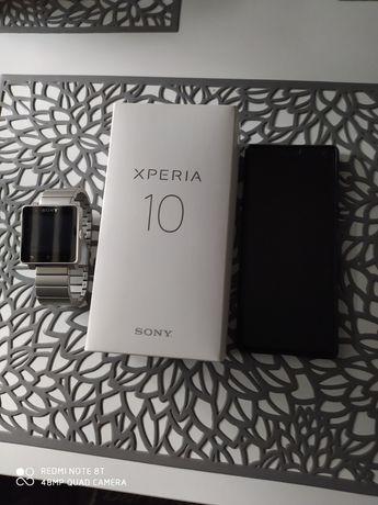 Xperia 10 plus smartwatch 2 stan idealny!!!