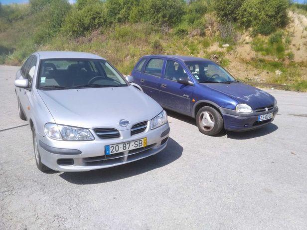 Vendo Nissan Almera e Opel Corsa 1000€ os dois.