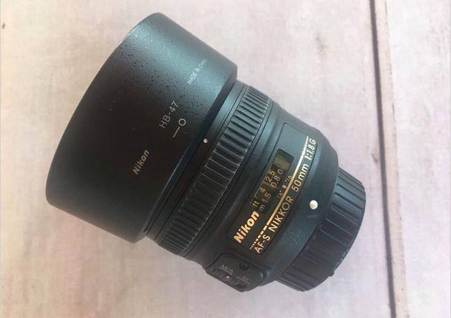 Lente Nikon 50mm 1.8 G
