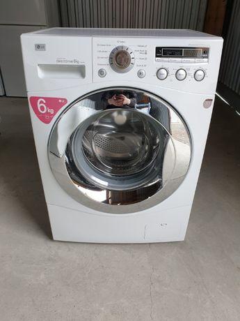 Узкая пральна/стиральная/ машина LG Inverter Direct Drive 6 KG