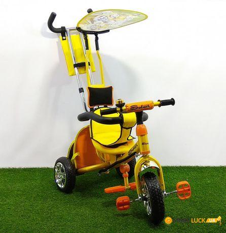 Акция. Детский трехколесный велосипед Azimut Safari. 3 колесный. Хит.