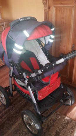 Wózek dzieciecy spacerówka głęboki fotelik samochodowy 3 w 1
