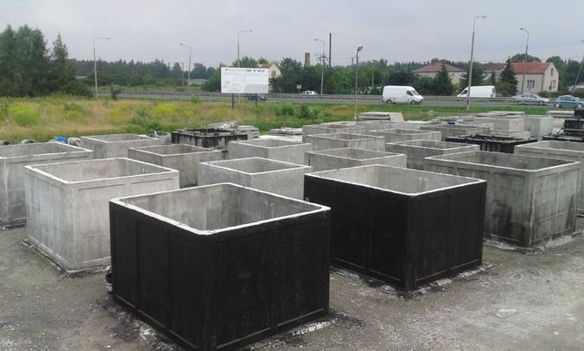 Szamba betonowe,Zbiornik betonowy-szambo,Zbiorniki na deszczówkę