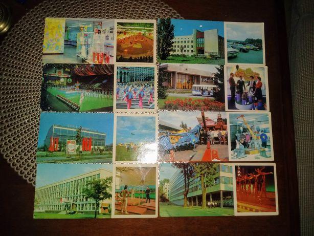 Kijów stare pocztówki 8 sztuk