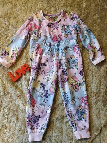 Детская пижама,пижамка для девочки Литл Пони,My Little Pony