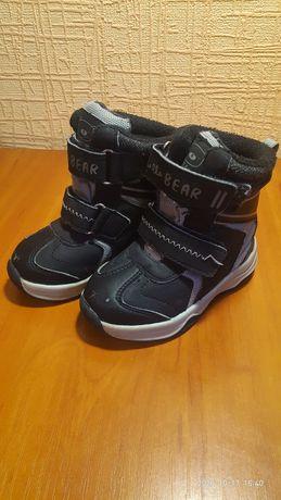 Чобітки, черевики зимові, термочобітки 22 розмір