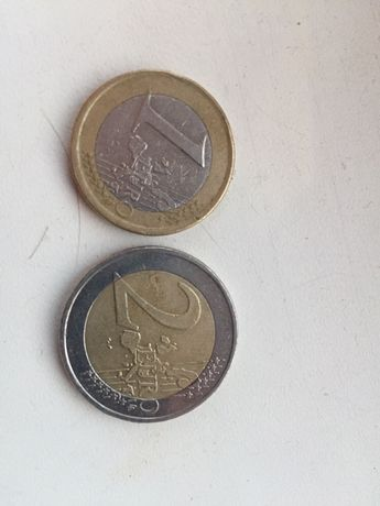 Евро монета