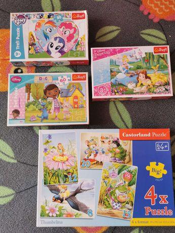 Puzzle dla dzieci w wieku 3+