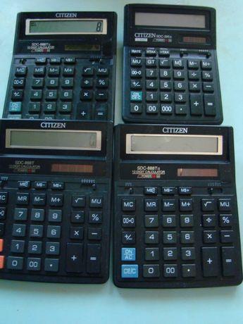Калькуляторы CITIZEN, Б/У
