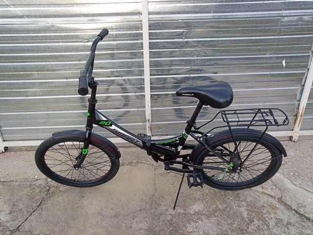 Велосипед складной , для роста 130-160см