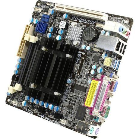 ASRock AD2700B-ITX. Проц-Intel(2.13 ГГц-4 потока) DDR3-до 8gb + Видео