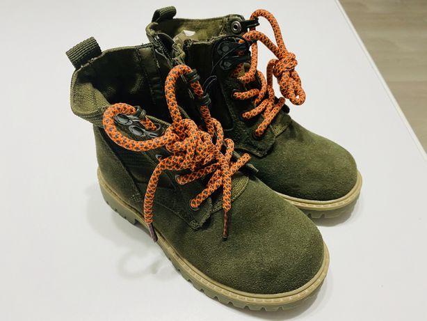 Trapery buty dla chlopca reserved rozm 28 skórzane nowe