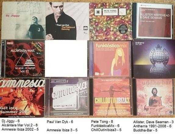 Cd's Album's '' Compilações '' Singles - Dance,House,Techno,Trance,Etc