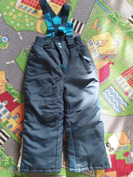 Spodnie narciarskie zimowe od kombinezonu 5.10.15 r. 104 110