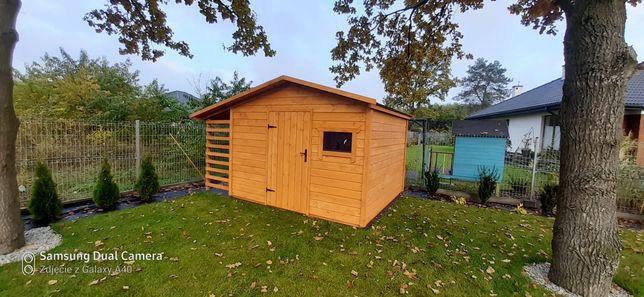 Domek drewniany narzedziowy drewutnia montaż gratis
