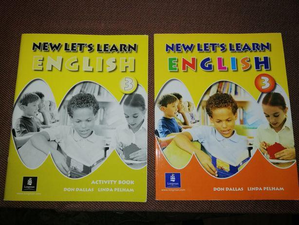 Підручник +зошит англійська New lets learn 3 клас.